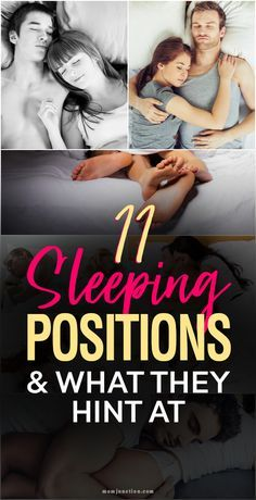 11 Sleeping Positions And What They Hint At