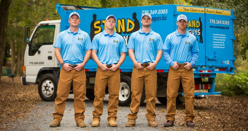 The Stand Up Guys Junk Removal Crew cover all of Riverview.. You ...