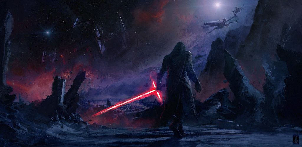 Kylo Ren Villain Star Wars Artwork 4k Wallpaper Star Wars Art Star Wars Concept Art Ren Star Wars