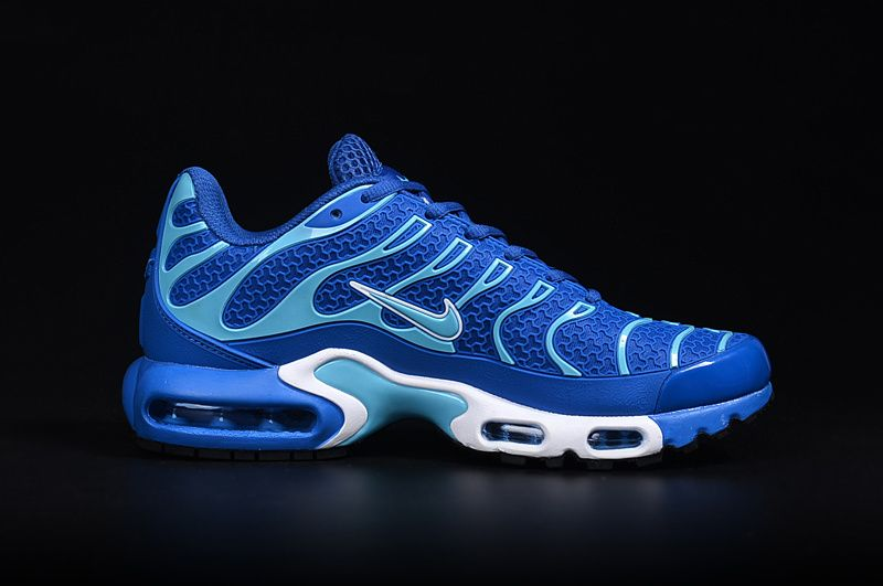 reputable site 17fa7 aa785 2018 Authentic Men Nike Air Max Plus TN Ultra Royal Blue White