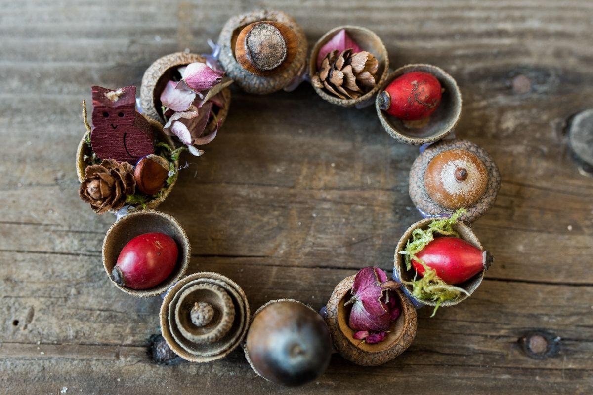 Die besten 25 herbstdeko mit kindern basteln ideen auf for Herbstbasteleien mit kindern basteln