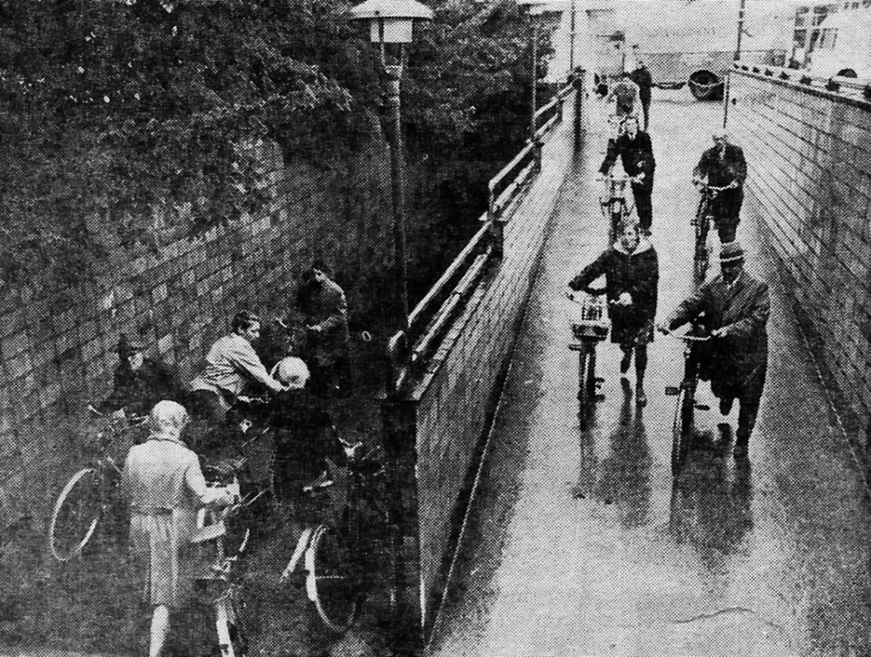 de 'tunnel', bron: Gerda Heezen