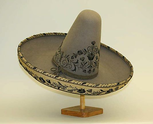 e645d47f753a8 For those festive days....(Mexican Hat (Sombrero) 1800–1940