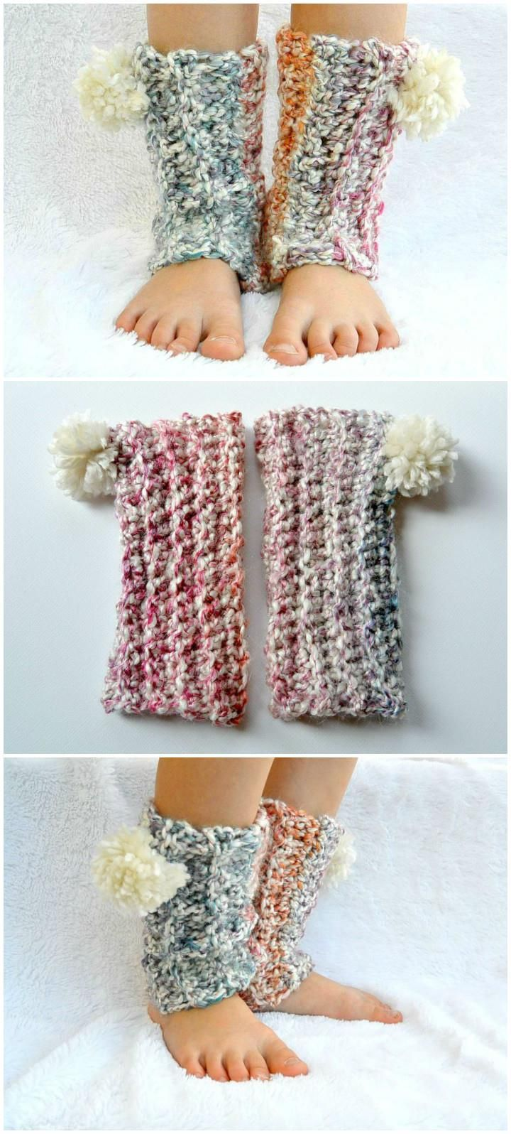 Lovely Crochet Snow Flurry Leg Warmers: - 101 Free Crochet Patterns - Full Instructions for Beginners   101 Crochet - Part 4