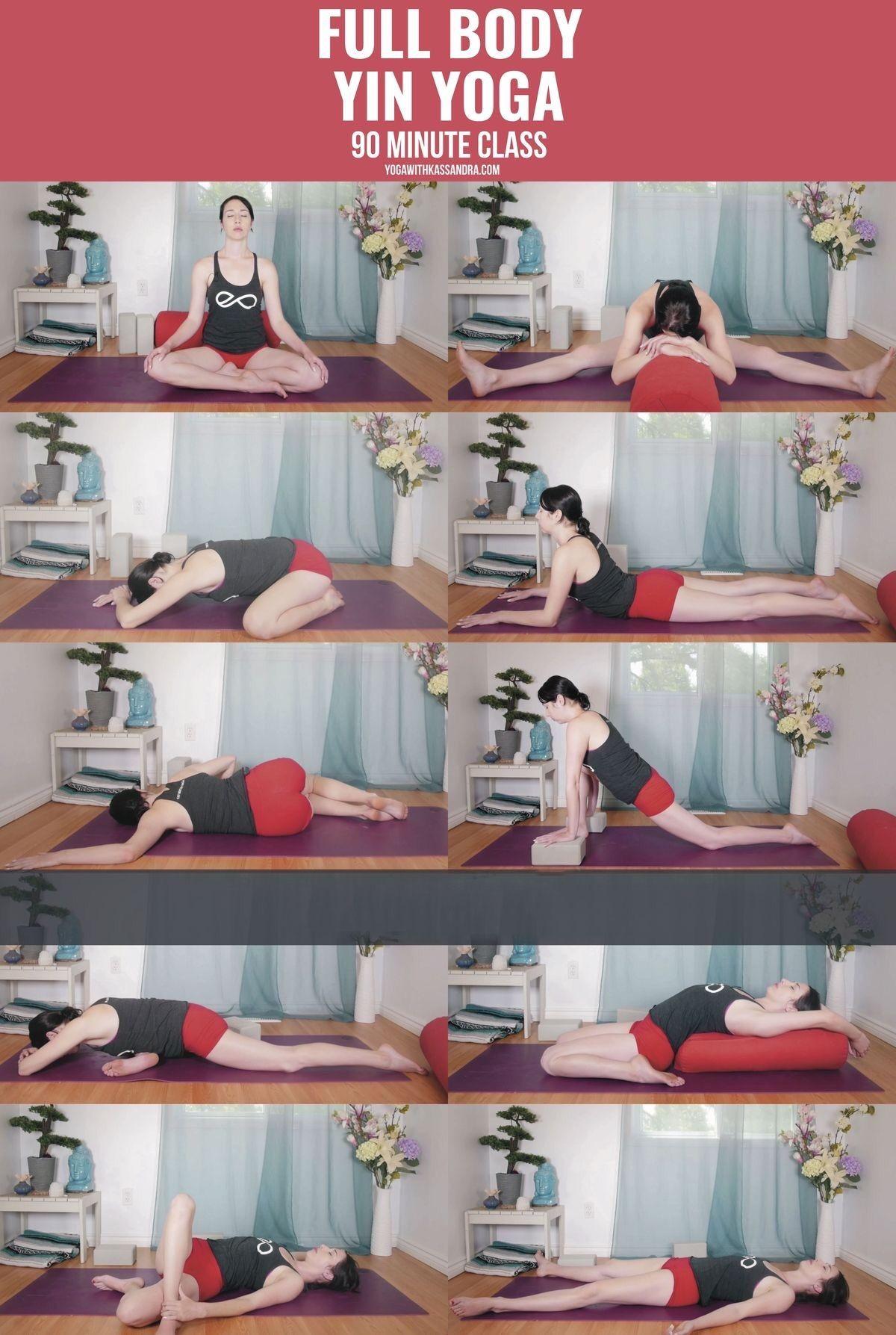 Yin Yoga 90 Minute Class The Poses Yin Yoga Sequence Yin Yoga Yin Yoga Poses