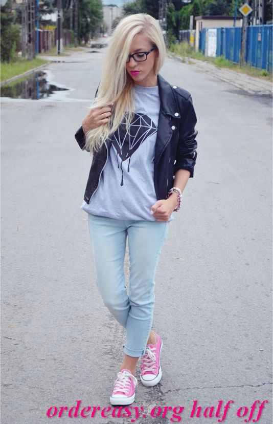 Converse And Skinny Jeans A Perfect Casual Look