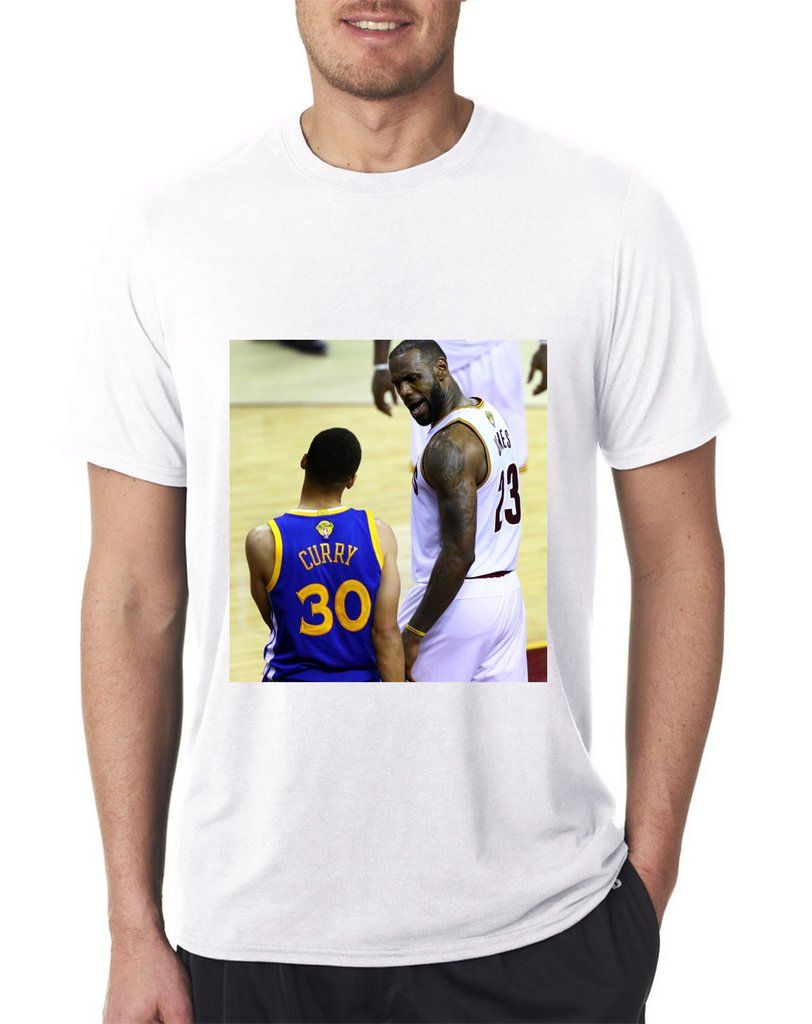 881ff08c1 Lebron James Vs. Steph Curry T-Shirt | Lebron James | Lebron James ...