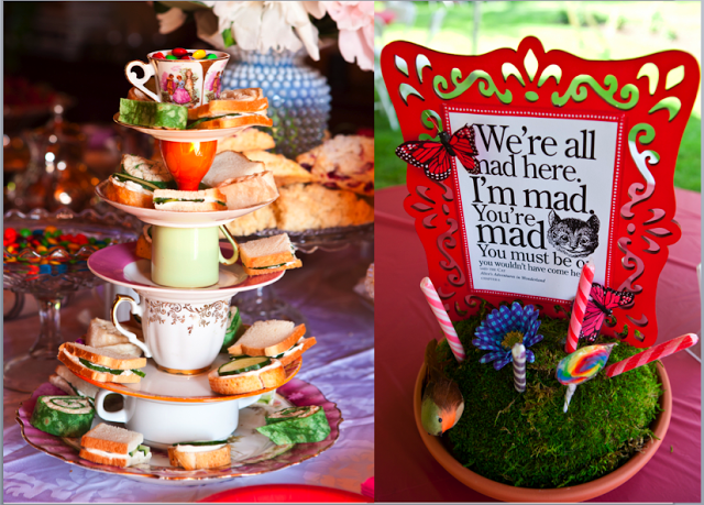 Home Confetti Charitable Mad Hatter Tea Party Bridal Shower Tea Party Food Mad Hatter Tea Party Tea Party Food