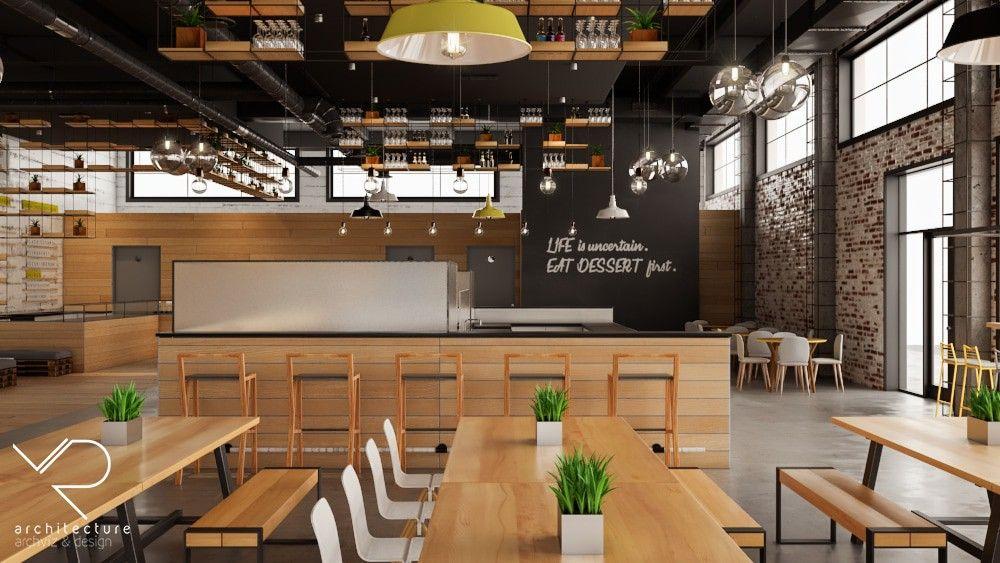 cafeteria design, Restaurant & Cafe Design Inspiration ...