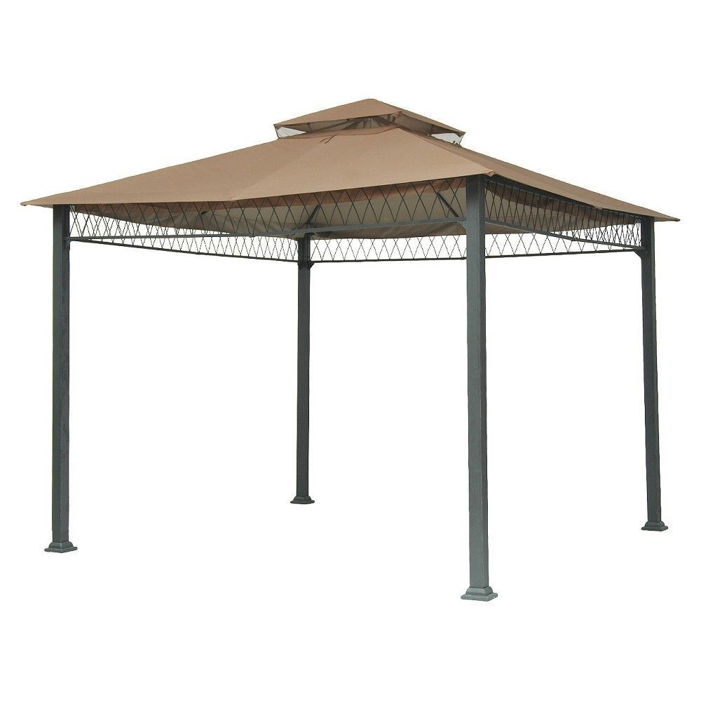 Threshold Havenbury 10 X 10 Replacement Gazebo Canopy Tan Gazebo Canopy Gazebo Gazebo Replacement Canopy