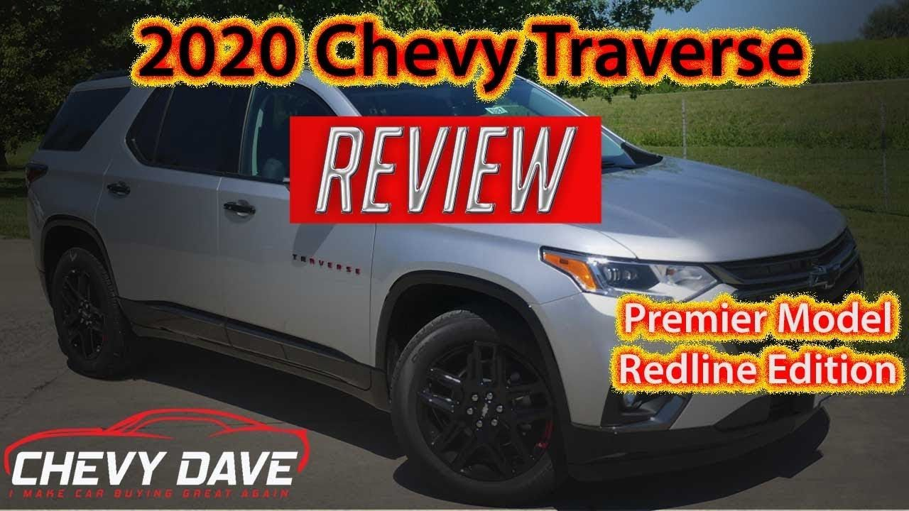 2020 Chevrolet Traverse Redline Edition Review Traverse Redline