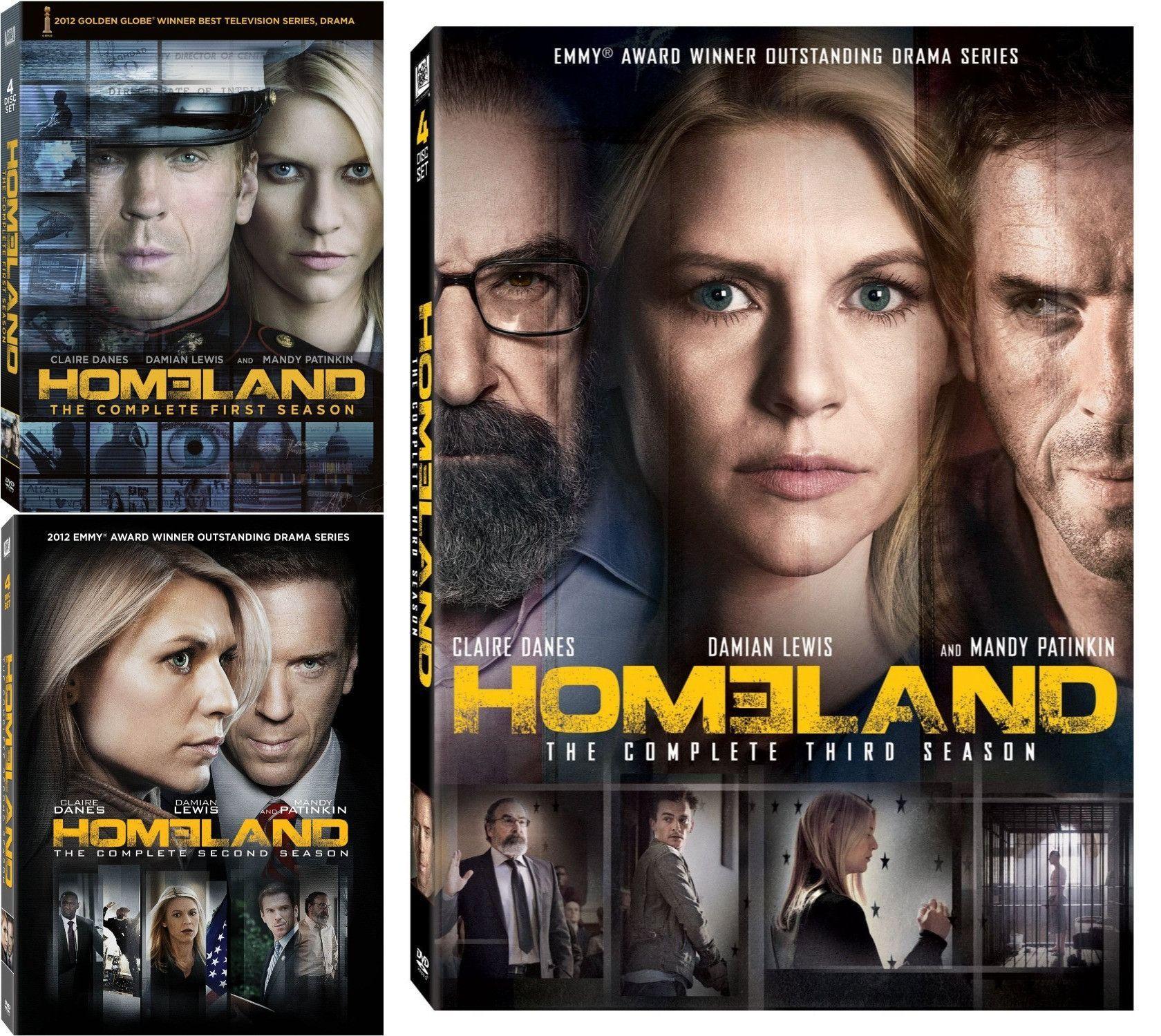Homeland DVD Series Seasons 1-7 Set | people | Damian lewis, Movies
