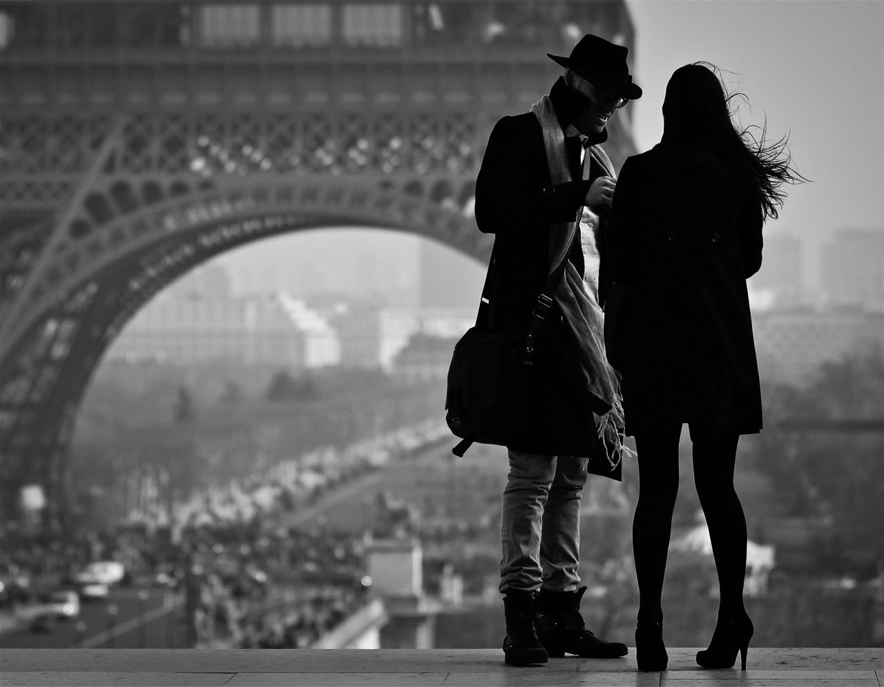 forthepleasureofmylife:Just the two of usTrocadéro ParisPhoto: Dieter Krehbiel