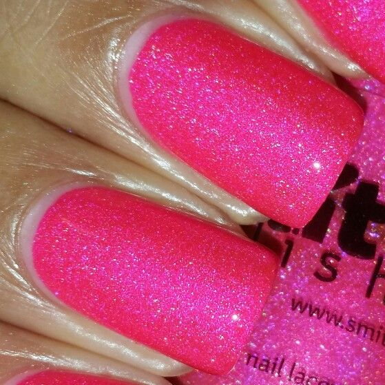 Smitten Polish Group Custom Electric Candy Pop | My Swatches | Pinterest