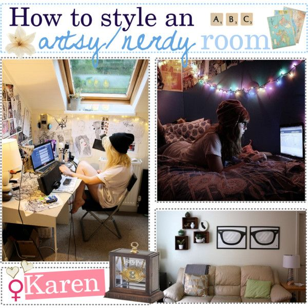 How to style an artsy nerdy room by every girl has a for Room decor hipster