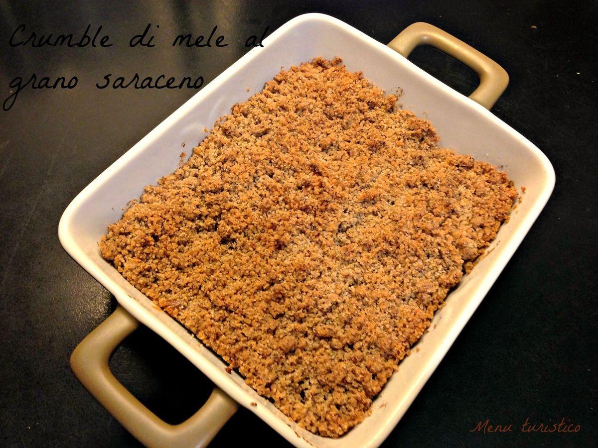 Avevo in mente un post, per oggi, che descrivesse l'ingrediente principale della ottima ricetta che vi presentiamo, il crumble di mele al grano saraceno di Giorgia... e invece ho cambiato idea in itinere ! Si, perchè ieri pomeriggio, ho avuto la gioia...