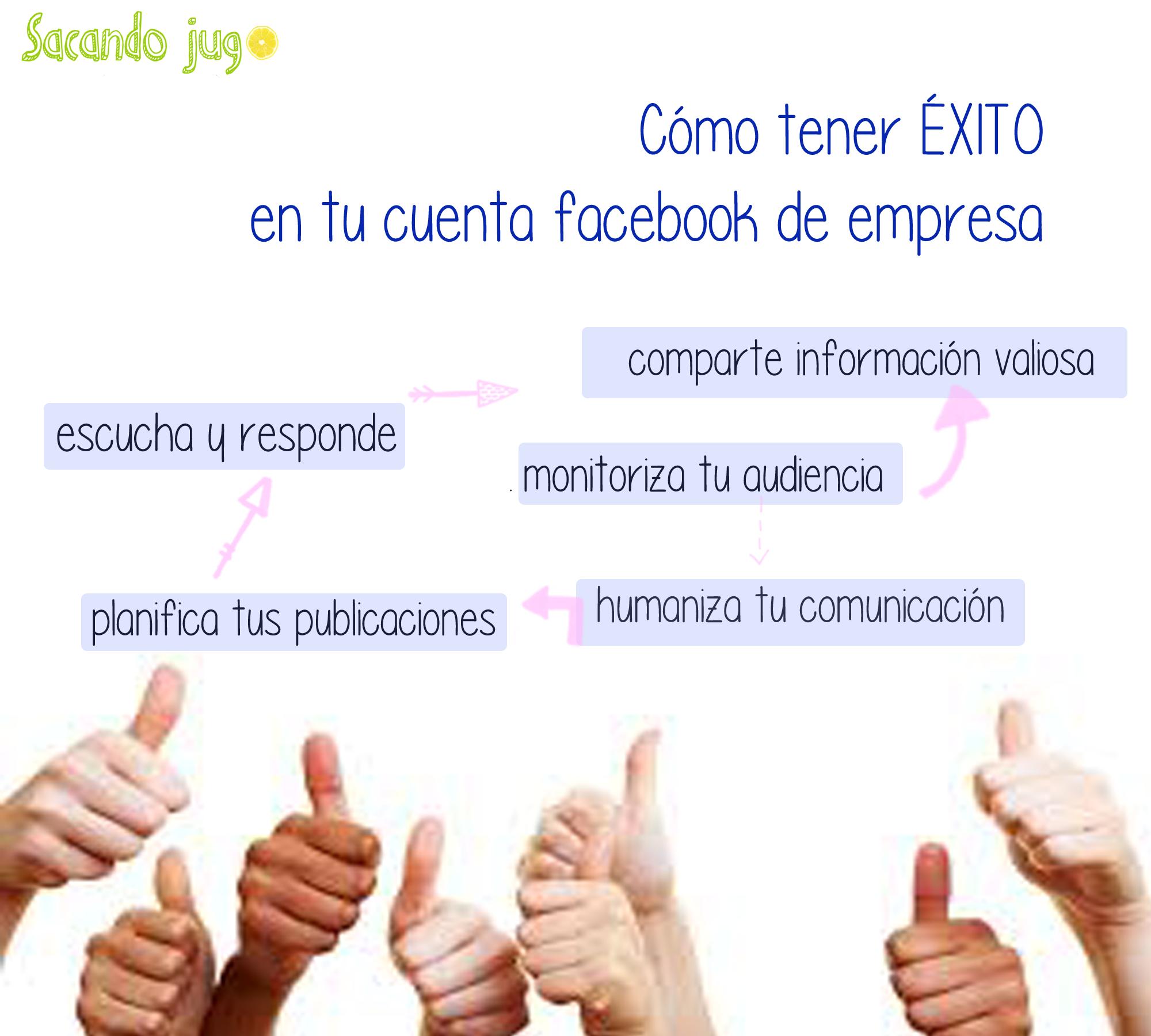 Cómo tener ÉXITO en tu cuenta facebook de empresa