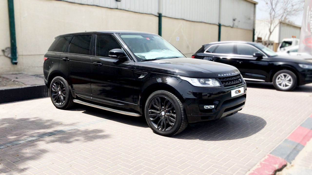 Drive the Range Rover Sport in Dubai 😎🇦🇪 for only AED 1300