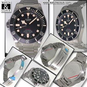 Tudor Pelagos LHD Ref.25610TNL Automatico, cassa e bracciale in acciaio e titanio, Ø42mm. Con scatola e documenti.