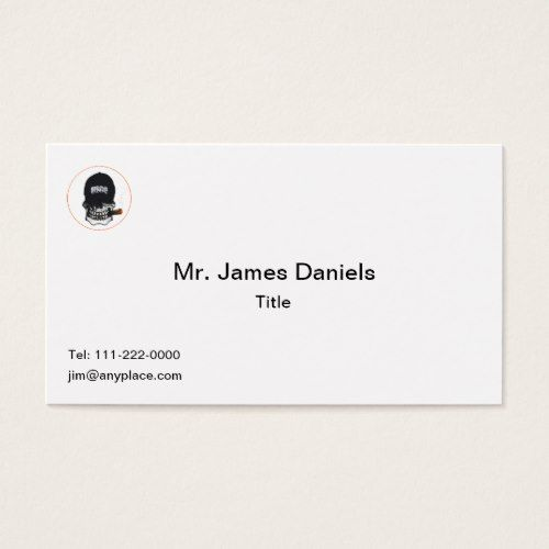Us Coast Guard Skull Shield Business Card Business Cards