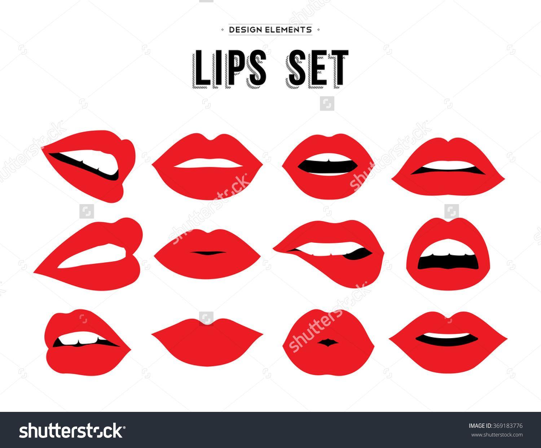 Pin By Raman Bedi On The Gossip House Lips Illustration Lip