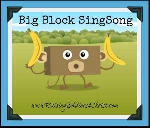 Big Block SingSong {Review & Giveaway} - Raising Soldiers 4 Christ #BigBlockSingSong #Kaboom #kaboomentertainment #Disney #Disneyjr