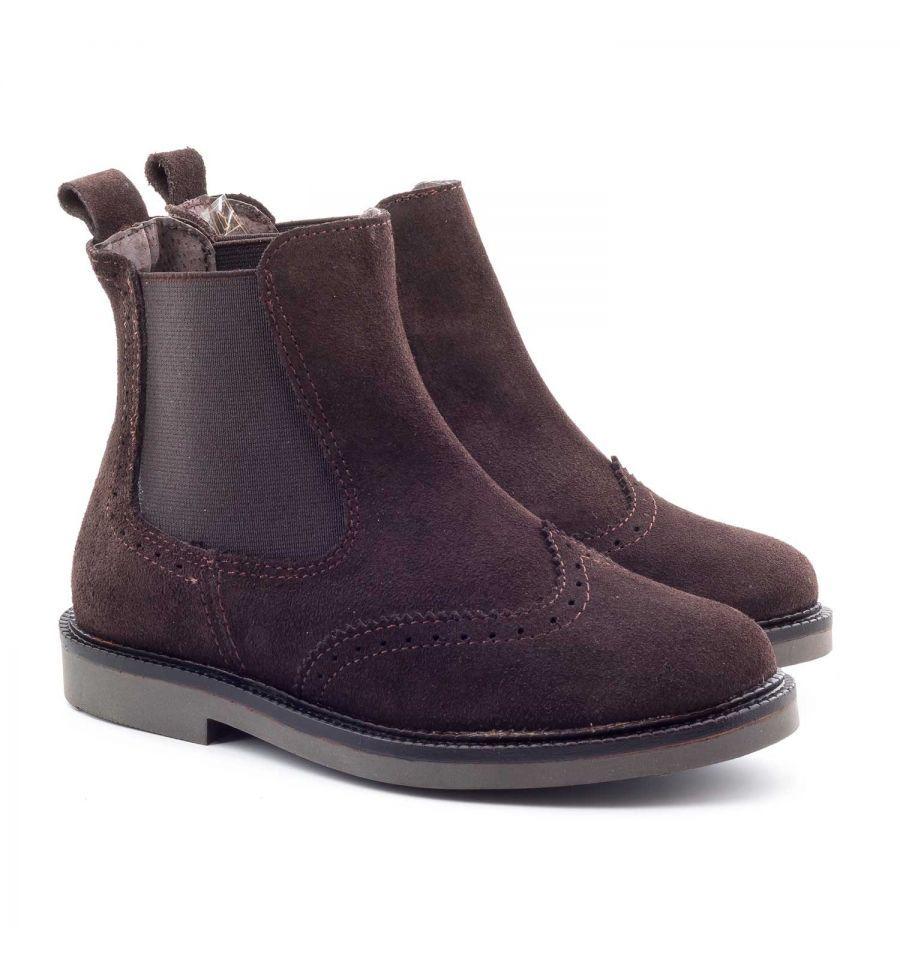 e3bfb29438f26 Les Boni Sacha sont des boots garçon ou fille en daim