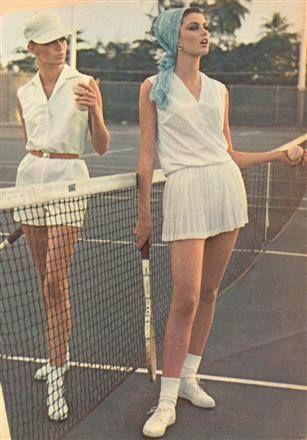 Astrid Heeren 1960s summer style. Vintage tennis fashion. | 1960s Summer Style | Pinterest ...