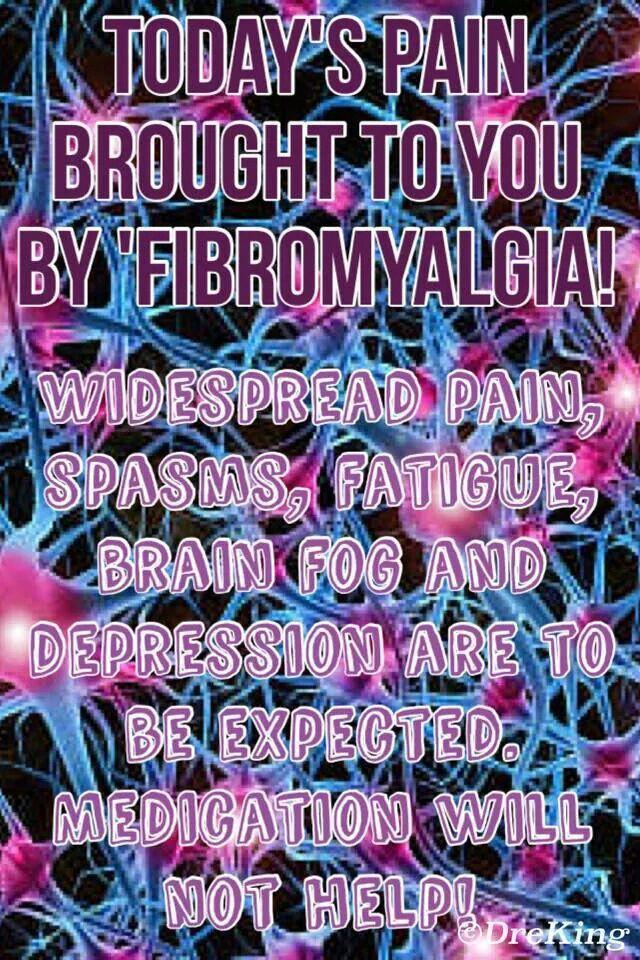 Pin by Katrina Betts on Fibromyalgia | Fibromyalgia, Brain ...