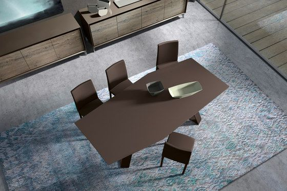 Tavolo Presotto ~ Stitched up tailor made design from presotto products tables