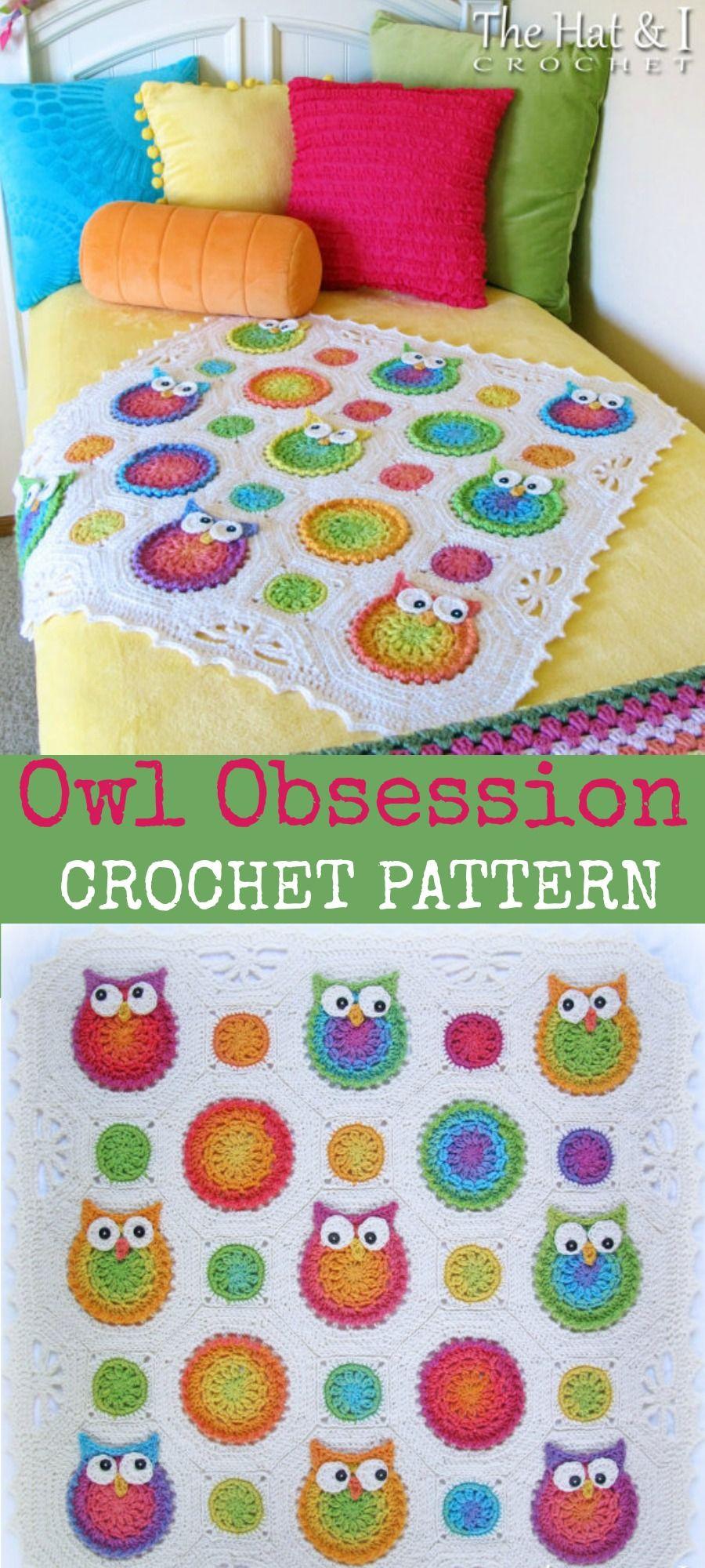 I love this owl crochet pattern. CROCHET PATTERN - Owl Obsession ...