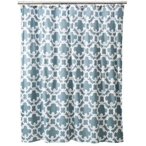ThresholdTM Grid Shower Curtain Home