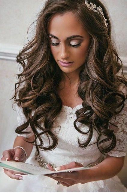 Bridal makeup for evening wedding #bridalmakeup | Makeup | Pinterest ...