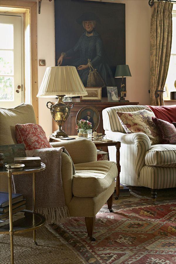 British style abitazioni for Case stile inglese interni