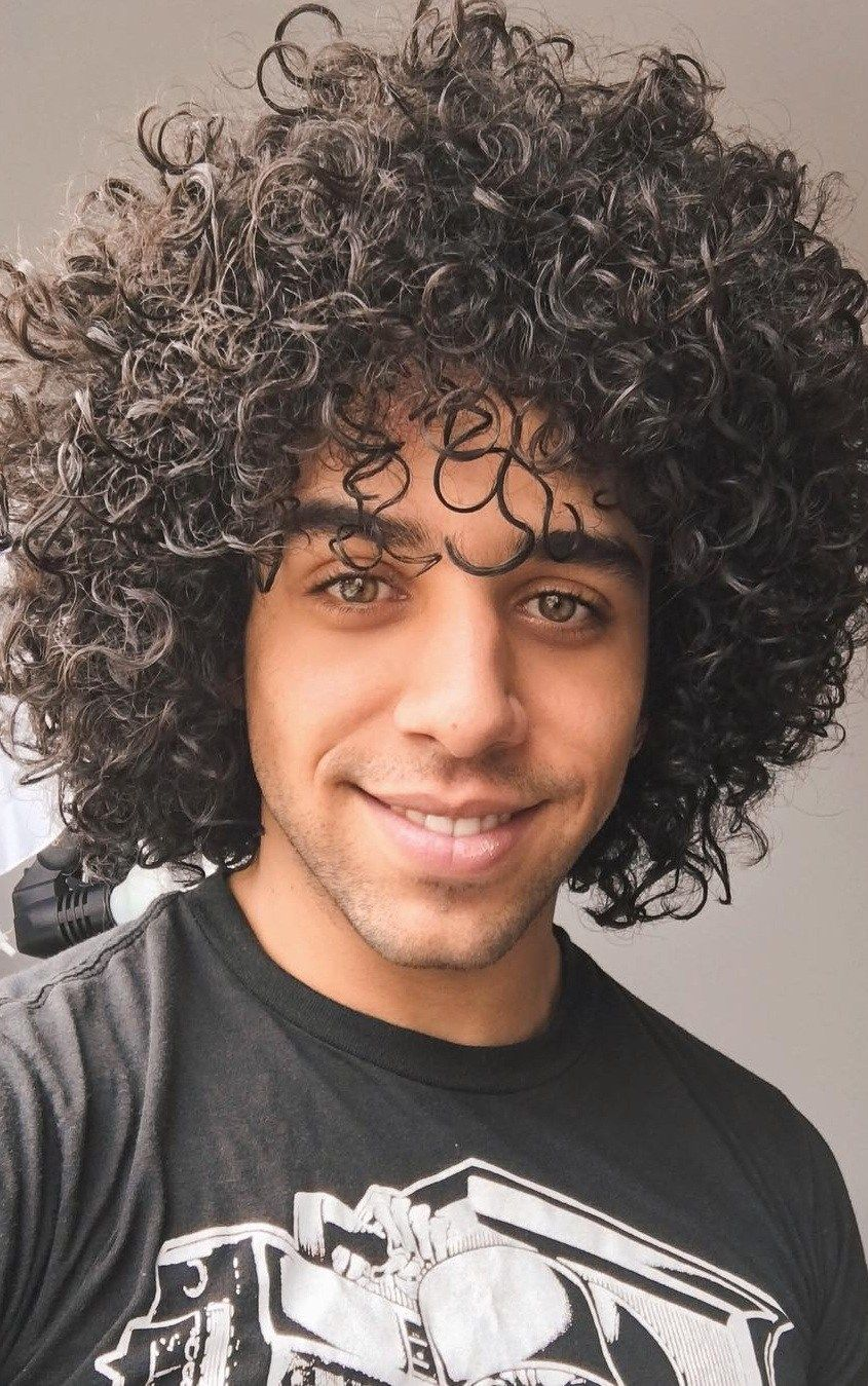 30 best curly hairstyles for men that will probably suit
