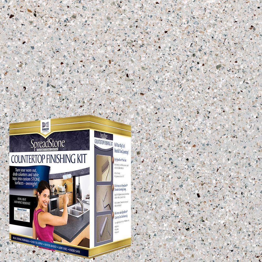 DAICH SpreadStone Mineral Select 1 qt. Onyx Fog Countertop ...