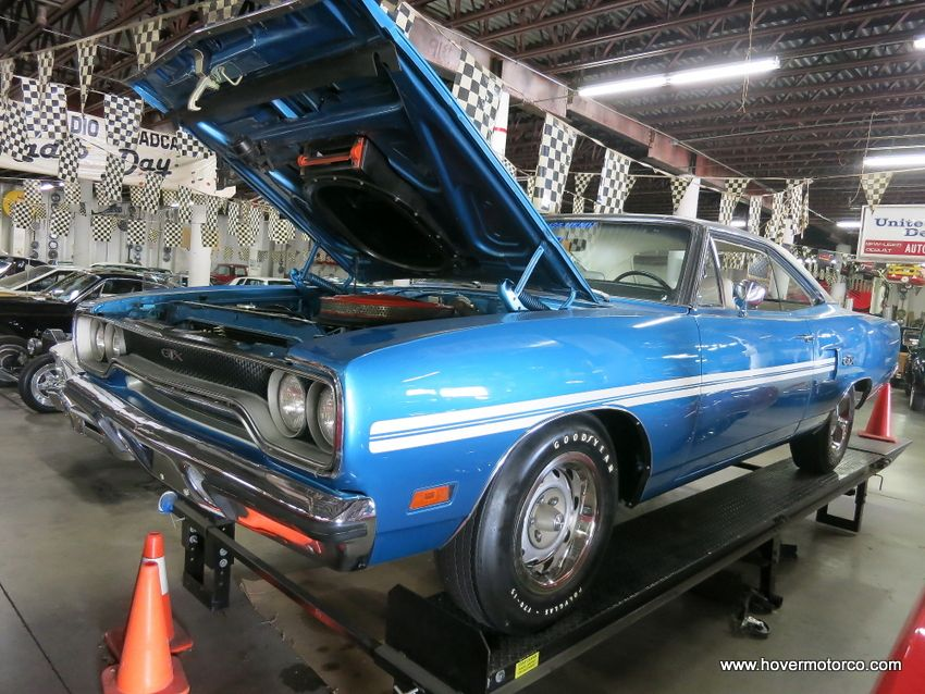 Bright Blue \'70 GTX with a 426-c.i. R-Code Hemi | Old Rides 3 ...