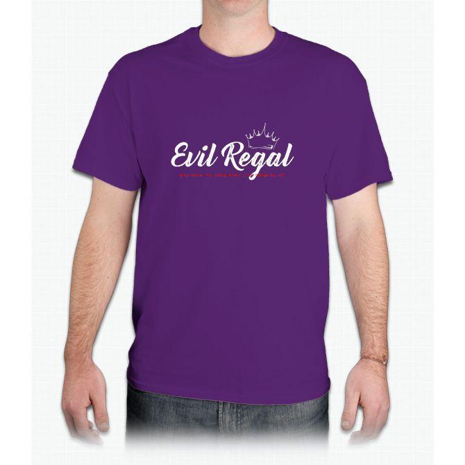 Evil Regal - White - Mens T-Shirt
