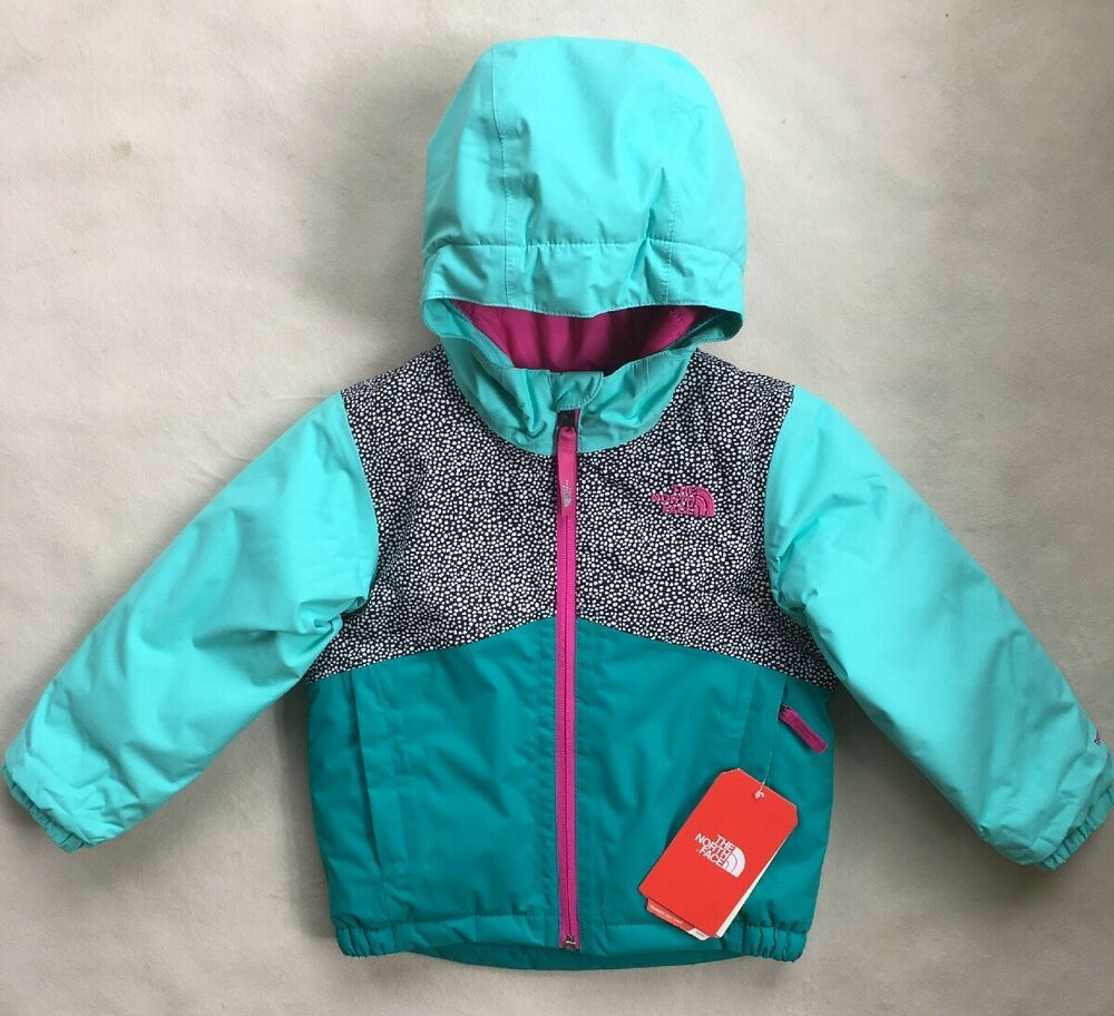 The North Face Toddler Girls Insulated Waterproof Hooded Jacket Nwt 99 Size 3t Thenorthface Jacket Waterproof Hooded Jacket The North Face Hooded Jacket [ 912 x 1000 Pixel ]