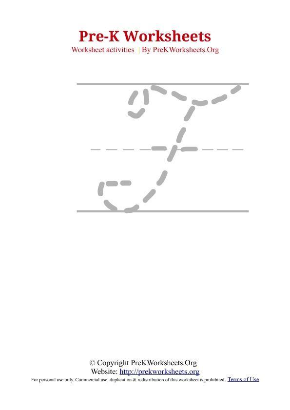 Cursive Tracing Alphabet F | cursive practice | Pinterest
