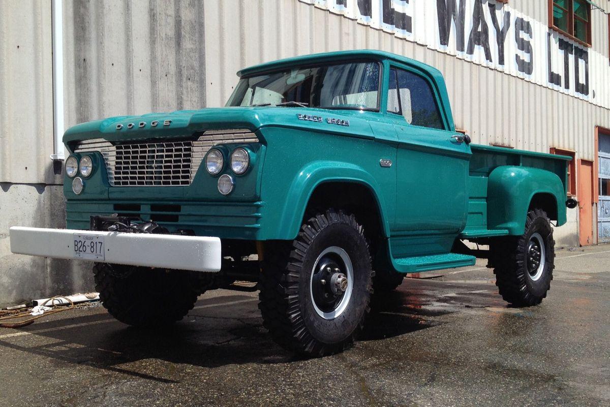 1962 dodge power wagon w300 dodge power wagons trucks. Black Bedroom Furniture Sets. Home Design Ideas