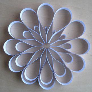 Beautiful paper flower.
