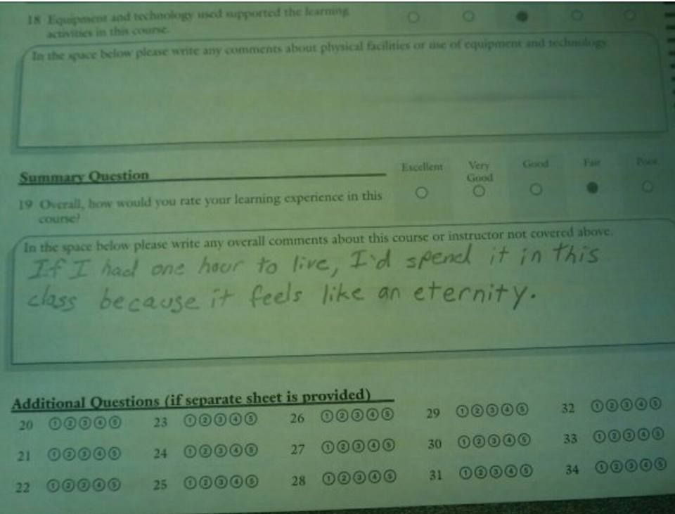 One Of The Very Best Teaching Reviews I Have Ever Read Funny
