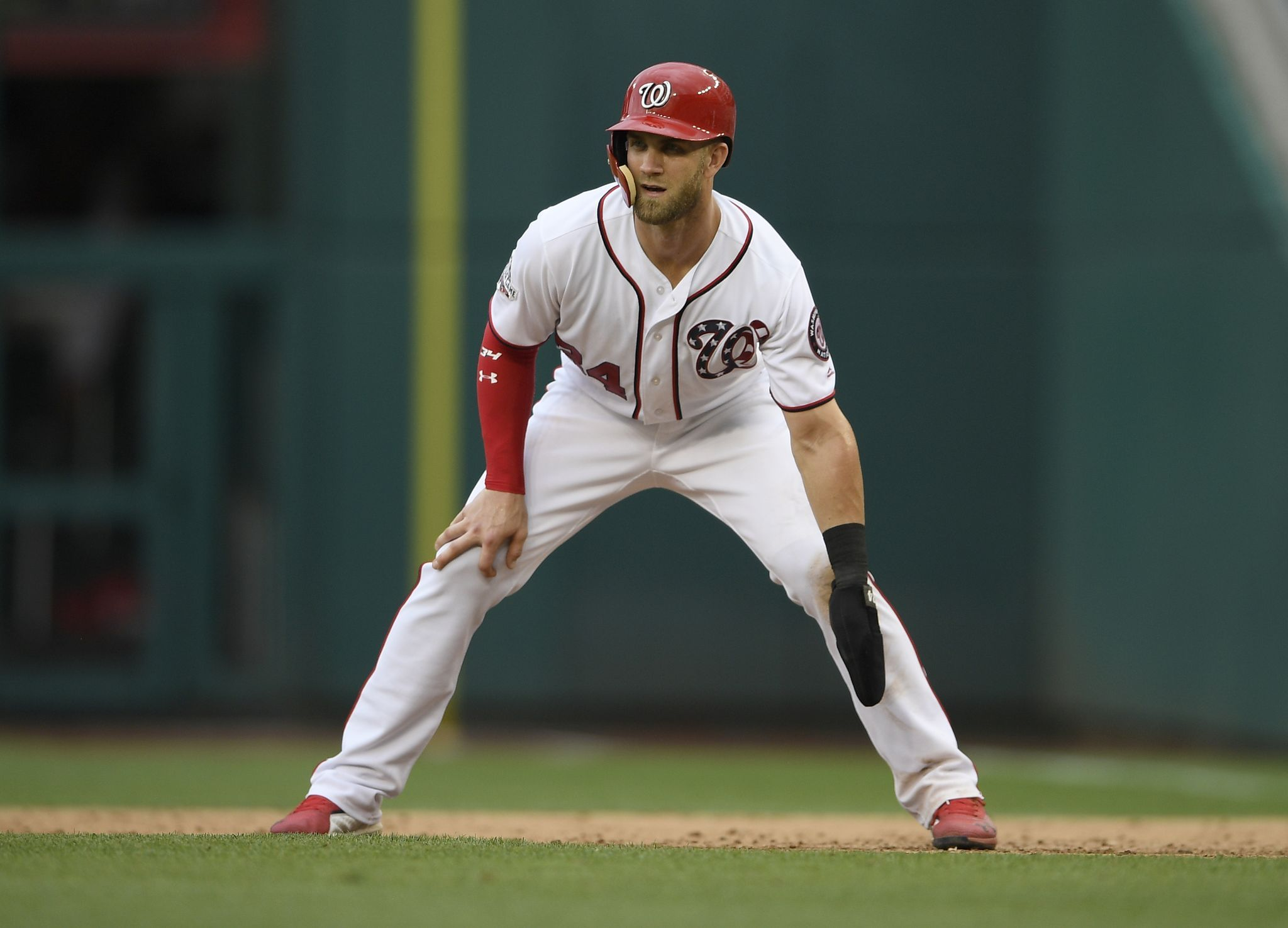 Bryce Harper Nationals Seem Mutually Interested In Reunion Reports Bryce Harper Free Agent National