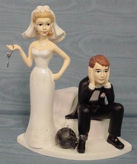 Ball & chain Topper... funny