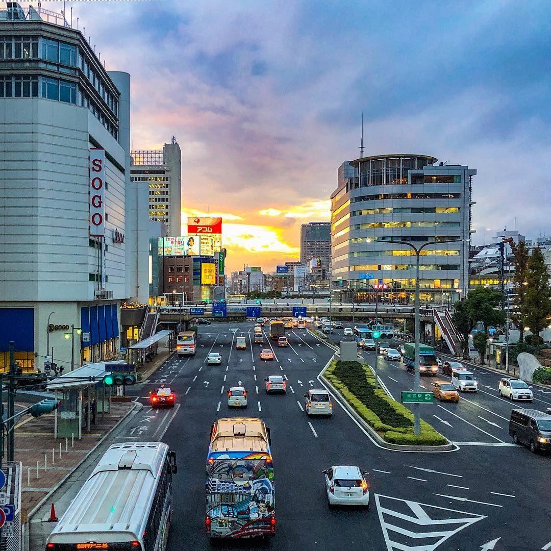 City view of Sannomiya, Kobe, Japan  | Photos from Kobe city