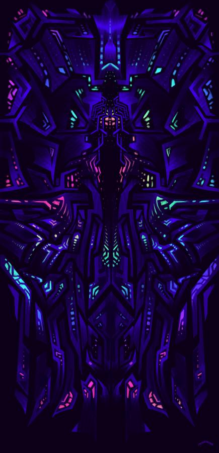 More Concept Art For Nowhere Sacred Blacklight In 2019