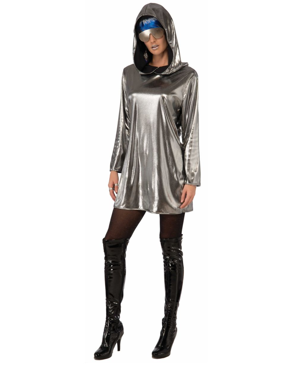 Science Fiction Kostüm Space Woman Karneval Fasching Orl