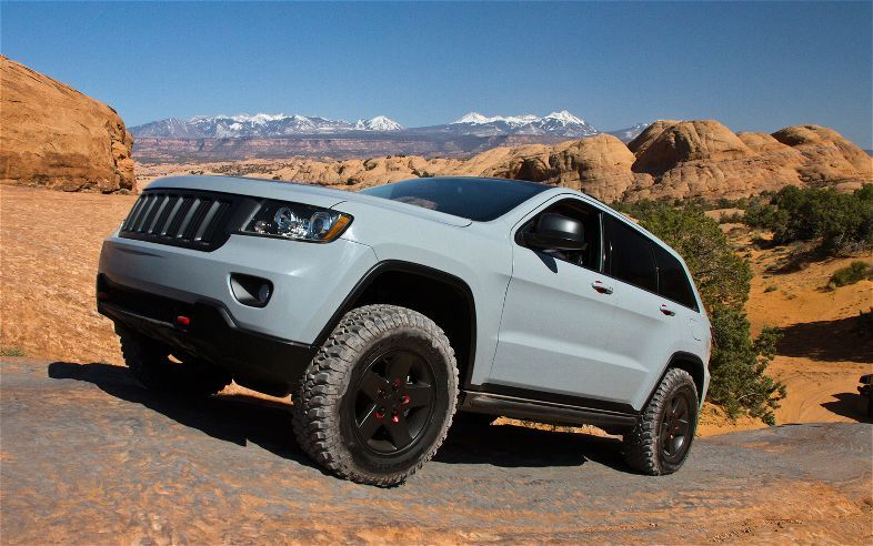 Mopar Underground Jeep And Ram Run Wild At Moab Motor Trend Jeep Grand Cherokee Jeep Grand Best Suv Cars