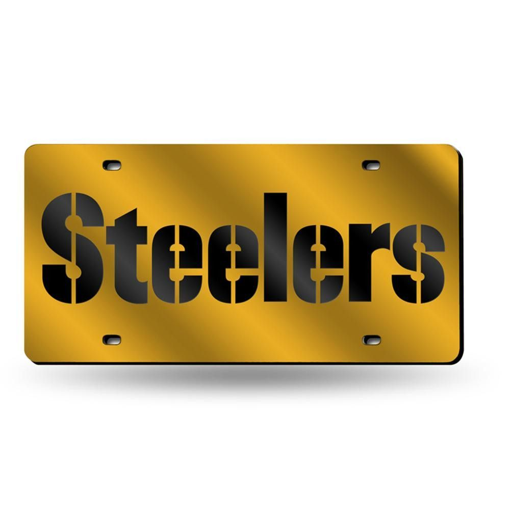 Pittsburgh Steelers Nfl Laser Cut License Plate Tag | Products ...